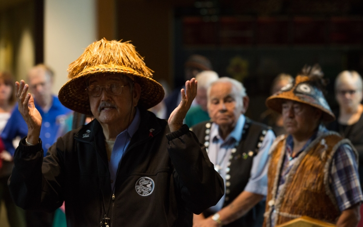 Hereditary Chief Tsilixw presents the historical and cultural case for a shared responsibility, and offers his blessing for the journey.