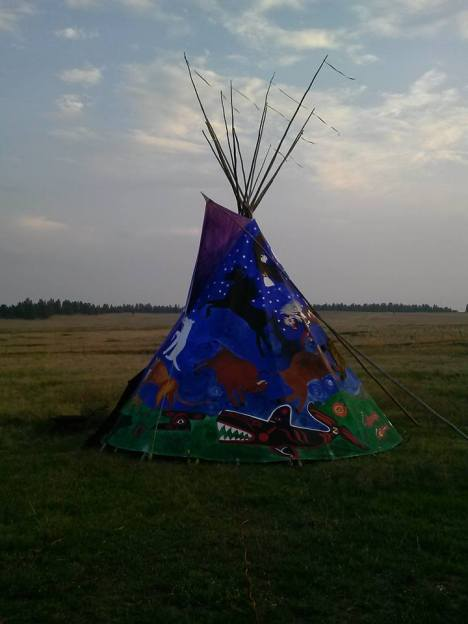 Cheyenne homeland.