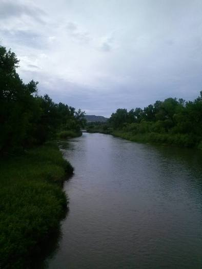 My Cheyenne homelands are graced by this beautiful gift- the famous Tongue River.