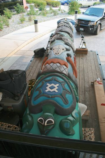Totem Pole for Northern Cheyenne