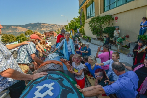 Photos from Hood River Blessing Ceremony