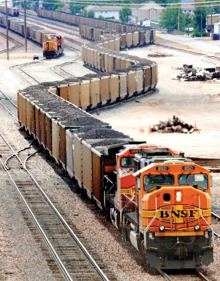 Missoula Coal Train