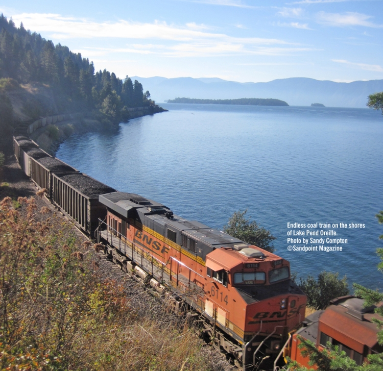 Sandpoint Coal Train